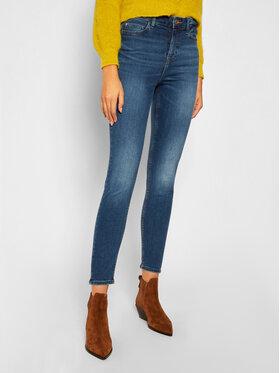 Guess Guess Skinny Fit Jeans 1981 W0YA46 D4484 Dunkelblau Skinny Fit