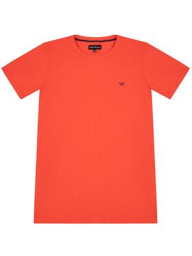 Emporio Armani Emporio Armani Marškinėliai 8N4TJC 4JFEZ 0391 Raudona Regular Fit
