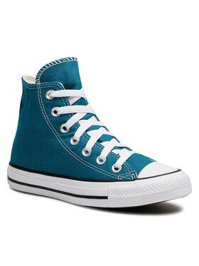 Converse Converse Кецове Ctas Hi 170463C Зелен