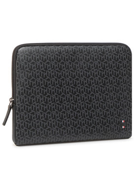 Tommy Hilfiger Tommy Hilfiger Калъф за iPad Th Monogram Tablet Sleeve AM0AM06724 Черен