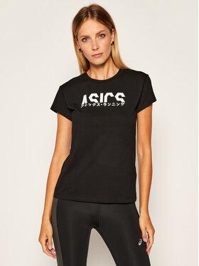 Asics Asics T-Shirt Katakana Graphic Tee 2032B756 Czarny Regular Fit