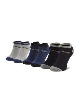 Pepe Jeans Pepe Jeans 3er-Set niedrige Herrensocken Anthony PMU10658 Grau