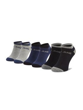 Pepe Jeans Pepe Jeans Set de 3 perechi de șosete medii pentru bărbați Anthony PMU10658 Gri