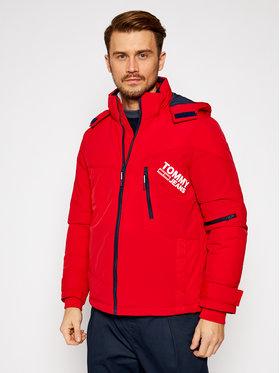 Tommy Jeans Tommy Jeans Winterjacke Czerwony DM0DM08761 Rot Regular Fit