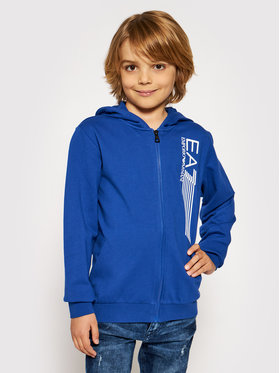 EA7 Emporio Armani EA7 Emporio Armani Sweatshirt 3KBM56 BJ05Z 1570 Bleu Regular Fit