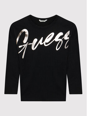Guess Guess Μπλουζάκι J1BI26 RA260 Μαύρο Regular Fit