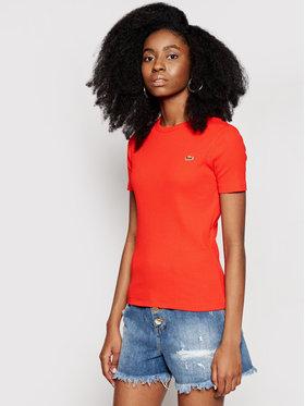 Lacoste Lacoste T-shirt TF5463 Rouge Slim Fit