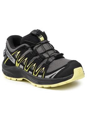 Salomon Salomon Trekingová obuv Xa Pro 3D Cswp J 411241 09 V0 Šedá