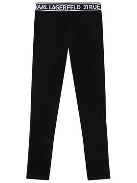 KARL LAGERFELD KARL LAGERFELD Legíny Z14148 S Černá Slim Fit