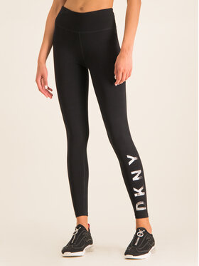 DKNY Sport DKNY Sport Leggings DP7P1223 Schwarz Slim Fit