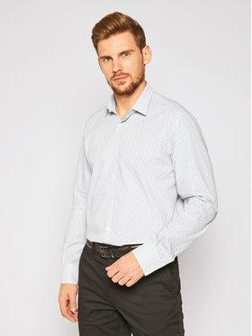 KARL LAGERFELD KARL LAGERFELD Marškiniai 605003 502687 Balta Slim Fit