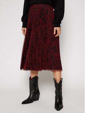 Guess Guess Plisovaná sukně Raegan Reversible W0BD89 WDEA0 Barevná Regular Fit