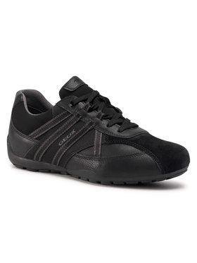 Geox Geox Sneakers U Ravex C U023FC 0AFME C9999 Schwarz