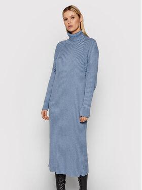 YAS YAS Trikotažinė suknelė 26025937 Mėlyna Regular Fit