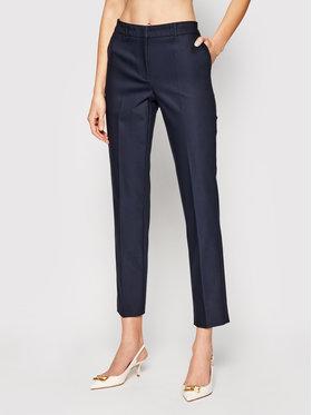 Marella Marella Pantaloni din material Soma 31311111 Bleumarin Slim Fit