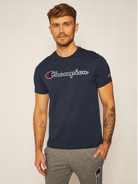 Champion Champion T-Shirt Crewneck Tee 214726 Tmavomodrá Comfort Fit