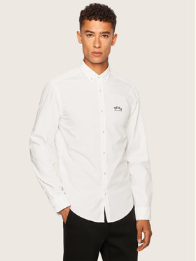 Boss Boss Marškiniai Biadia_R 50431538 Balta Regular Fit