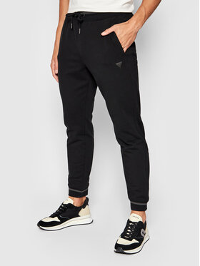 Guess Guess Παντελόνι φόρμας M1BB37 K7ON1 Μαύρο Slim Fit