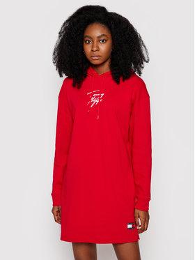Tommy Hilfiger Tommy Hilfiger Úpletové šaty UW0UW02865 Červená Regular Fit