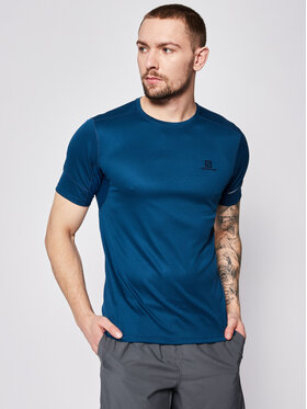 Salomon Salomon Techniniai marškinėliai Agile Ss Tee LC1099900 Tamsiai mėlyna Regular Fit