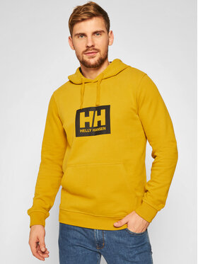 Helly Hansen Helly Hansen Pulóver Box 53289 Sárga Regular Fit