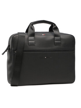 Tommy Hilfiger Tommy Hilfiger Чанта за лаптоп Essential Computer Bag AM0AM06475 Черен
