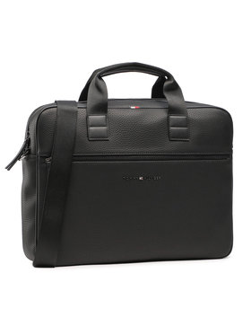 Tommy Hilfiger Tommy Hilfiger Laptoptáska Essential Computer Bag AM0AM06475 Fekete