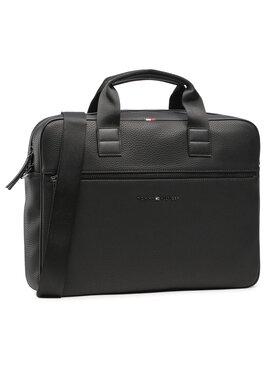 Tommy Hilfiger Tommy Hilfiger Nešiojamo kompiuterio krepšys Essential Computer Bag AM0AM06475 Juoda
