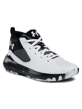 Under Armour Under Armour Chaussures Ua Gs Lockdown 5 3023533-100 Blanc
