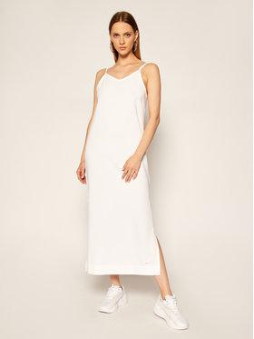 Nike Nike Плетена рокля Sportswear CJ3750 Бял Standard Fit