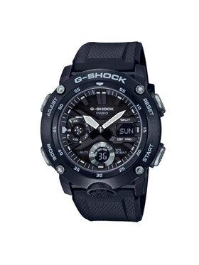 G-Shock G-Shock Ρολόι GA-2000S-1AER Μαύρο