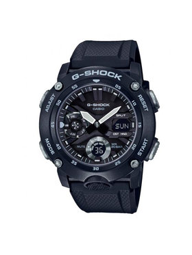 G-Shock G-Shock Zegarek GA-2000S-1AER Czarny