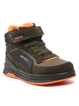 Geox Geox Зимни обувки J Astuto B.B Abx A J16FDA 0ME22 C3348 Зелен
