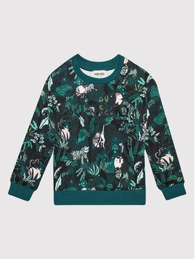 Kenzo Kids Kenzo Kids Sweatshirt K15145 Vert Regular Fit