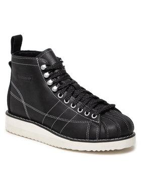 adidas adidas Обувки Superstar Boot H00241 Черен