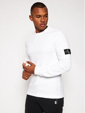 Calvin Klein Jeans Calvin Klein Jeans Пуловер J30J316610 Бял Regular Fit