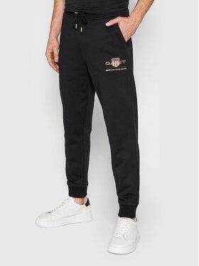 Gant Gant Pantalon jogging Archive Shield 2049005 Noir Regular Fit