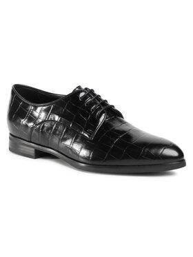 Gino Rossi Gino Rossi Oxford cipők DPK386-S48-1026-9900-0 Fekete