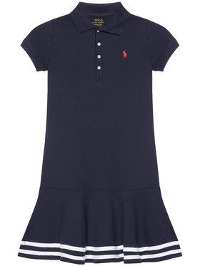 Polo Ralph Lauren Polo Ralph Lauren Kasdieninė suknelė Stripe Polo 313813945001 Tamsiai mėlyna Regular Fit