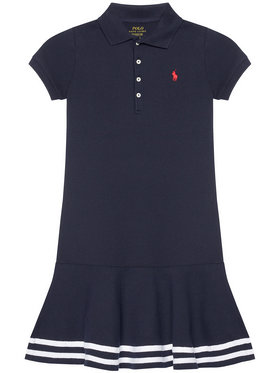 Polo Ralph Lauren Polo Ralph Lauren Kleid für den Alltag Stripe Polo 313813945001 Dunkelblau Regular Fit