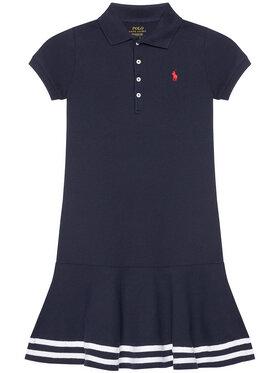 Polo Ralph Lauren Polo Ralph Lauren Sukienka codzienna Stripe Polo 313813945001 Granatowy Regular Fit