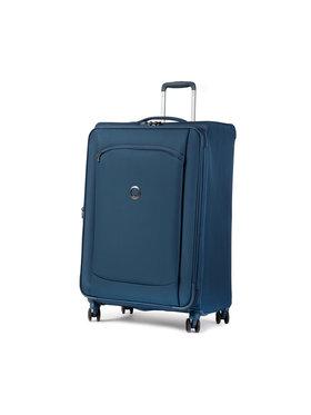 Delsey Delsey Nagy szövetborítású bőrönd Montmantre Air 2.0 00235282912 Sötétkék
