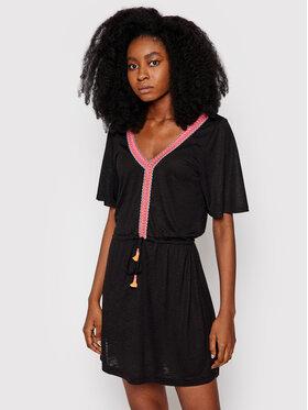 Banana Moon Banana Moon Plážové šaty Piggots Caraiva JEC01 Čierna Regular Fit