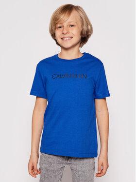 Calvin Klein Jeans Calvin Klein Jeans Tričko IB0IB00347 Modrá Regular Fit