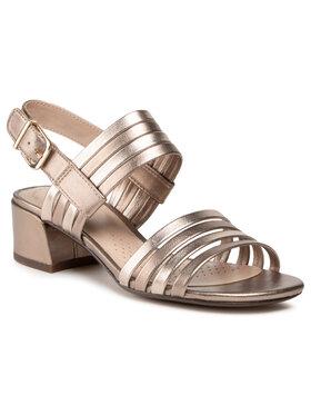 Clarks Clarks Sandále Caroleigh Bess 261594234 Zlatá