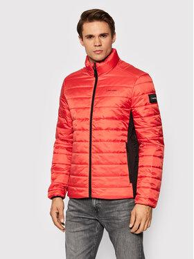 Calvin Klein Calvin Klein Пухено яке Essential Side Logo K10K107335 Червен Regular Fit