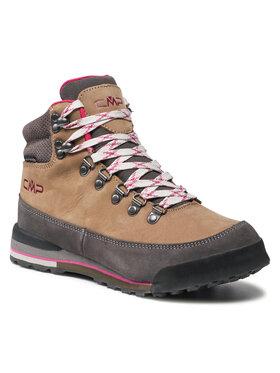 CMP CMP Παπούτσια πεζοπορίας Heka Wmn Hiking Shoes Wp 3Q49556 Καφέ