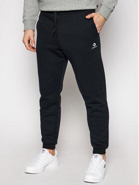 Converse Converse Spodnie dresowe Embroidered 10019925-A01 Czarny Regular Fit