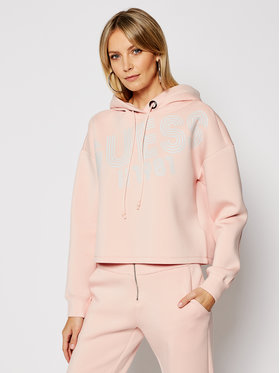 Guess Guess Bluză W1RQ69 K7UW2 Roz Relaxed Fit