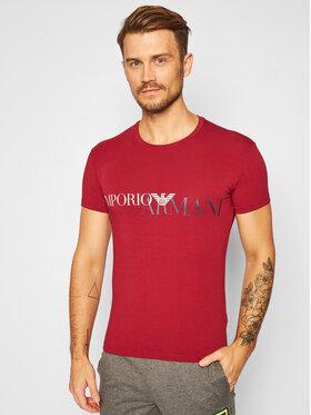 Emporio Armani Underwear Emporio Armani Underwear Marškinėliai 111035 0A516 2475 Bordinė Slim Fit